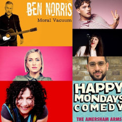 Happy Mondays Comedy at The Amersham Arms New Cross : Ben Norris, Juliet Meyers, Leo Reich and More
