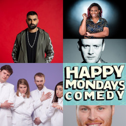 Happy Mondays Comedy at The Amersham Arms New Cross : Tez Ilyas ( Work In Progress), Sikisa and more
