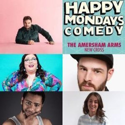 Happy Mondays Comedy at The Amersham Arms New Cross : Lloyd Griffith Work In Progress /Tour warmup