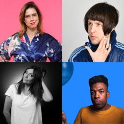 Happy Mondays Comedy at The Amersham Arms New Cross : Lou Sanders, Tom Ward, Fiona Allen
