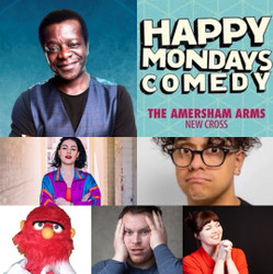 Happy Mondays Comedy at The Amersham Arms New Cross : Stephen K Amos, Josh Weller and guests