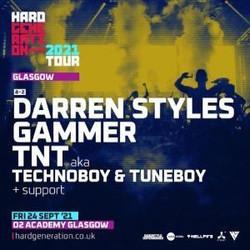 Hard Generation 2021 Tour // Glasgow