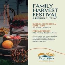 Harvest Fest/Cutting Ribbon Ceremony