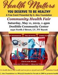 Health Matters Health Fair Ii