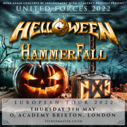 Helloween and Hammerfall - United Forces at O2 Academy Brixton