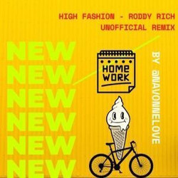 High Fashion Roddy Ricch ft Mustard Unofficial Remix/Kid's Version Navonne Love