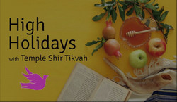 High Holidays with Temple Shir Tikvah