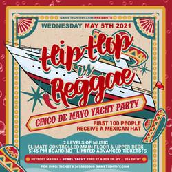 Hip Hop vs. Reggae Nyc Cinco De Mayo Yacht Party