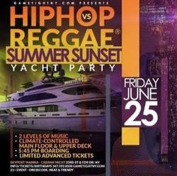 Hip Hop vs Reggae® Yacht Party Nyc Siteseeing Sunset Cruise Skyport Marina