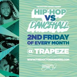 Hip-hop vs Dancehall @ Trapeze Basement, Fri 11th September