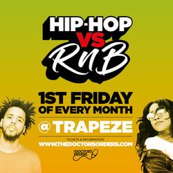 Hip-hop vs RnB @ Trapeze Basement - Fri 4th September