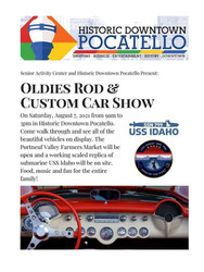 Historic Downtown Days! Oldies Rod and Custom Car Show