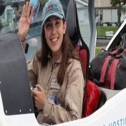 History In The Making Zara Rutherford Youngest Woman to Fly Around the World Solo