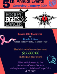 Hockey Fights Cancer Event