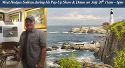 Hodges Soileau Pop Up Show & Painting Demonstration