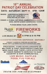 Holiday for Heroes 16th Annual Patriot Day Celebration