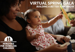 Horizons for Homeless Children's Virtual Spring Gala
