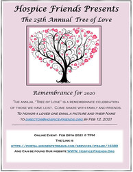 Hospice Friends- 25th Annual- Online Tree of Love Memorial Remembrance