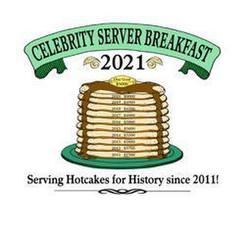 Hotcakes for History - Celebrity Server Breakfast