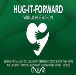 Hug-it-forward... Virtual Hug-a-thon!