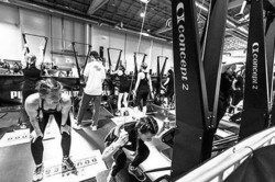 Hyrox Chicago Fitness Competition 2019