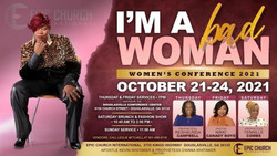 I'm A Bad Woman- Women's Conference