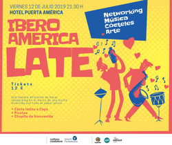 Iberoamerica Late at Skynight (Friday, July 12th)
