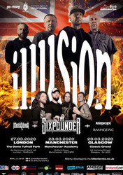 Illusion / The Sixpounder at The Classic Grand - Glasgow