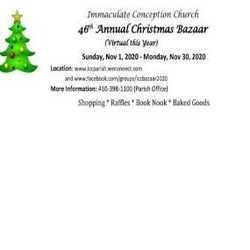 Immaculate Conception 46th Annual Christmas Bazaar (Virtual)