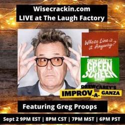 In person/Virtual Comedy w/ Greg Proops
