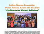 Indian Women Convention & Women Achiever Awards