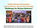 Indian Women Convention & Women Achiever Awards