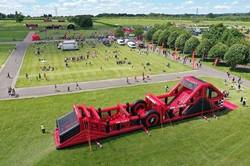 Inflatable 5k Obstacle Course Run - Hickstead, Haywards Heath