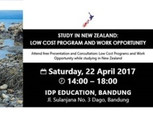 Info Session: Study in New Zealand: Scholarship, Low Cost Programs & Work