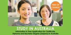 Info Session and Free Application Day, Australian Colleges and Universities