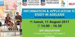 Informasi Studi Sarjana dan Master Degree di Adelaide Australia