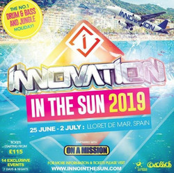 Innovation In The Sun 2019 w/ Dj Hype, A.m.c, Problem Central
