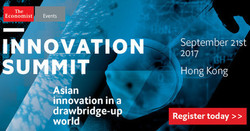 Innovation Summit, Hong Kong, September 21st 2017
