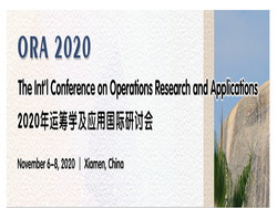 Int'l Conference on Operations Research and Applications(ORA 2020)