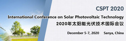 Int'l Conference on Solar Photovoltaic Technology (cspt 2020)