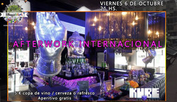 International Afterwork (Friday, October 6th)