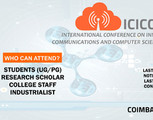 International Conference On Innovations In Communications And Computer Scie