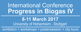 "International Conference ""Progress in Biogas Iv"" - Stuttgart"