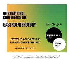 International Conference on Gastroenterology