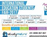International Education Students Fair 2017- @ Bangalore