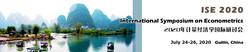 International Symposium on Econometrics (ise 2020)