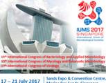 International Union of Microbiological Societies (iums) 2017