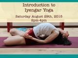 Introduction to Iyengar Yoga Workshop