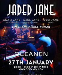 Jaded Jane live at Oceanen, Gothenburg