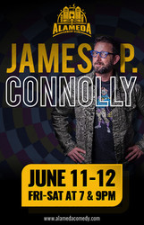 James P Connolly at the Alameda Comedy Club